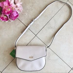 Kate Spade Spencer Court Lavinia Leather Crossbody